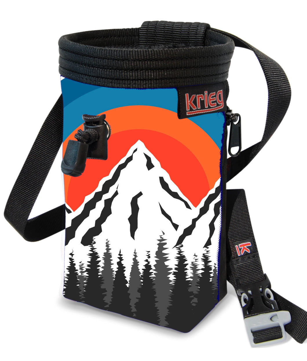 Mountains 2.0 Climbing Chalk Bag Krieg