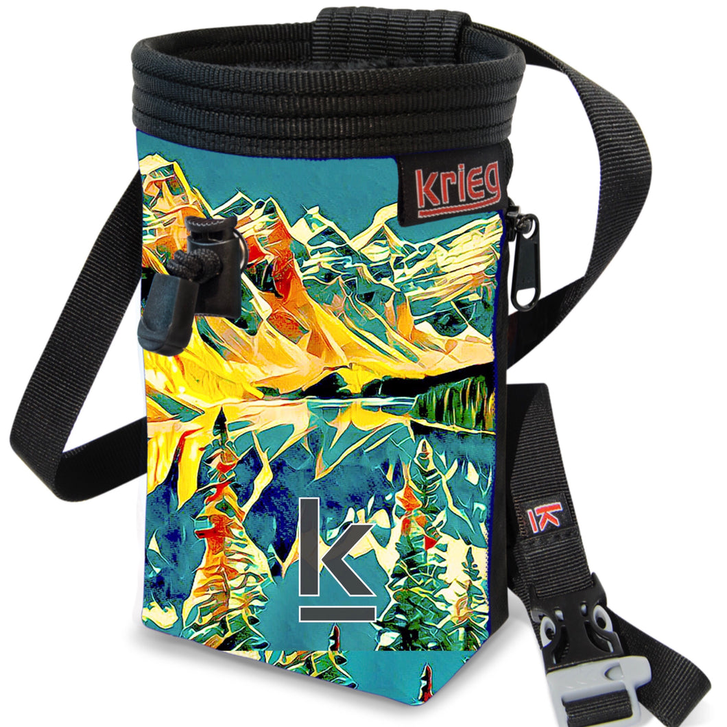Dream day chalk bag Krieg Climbing