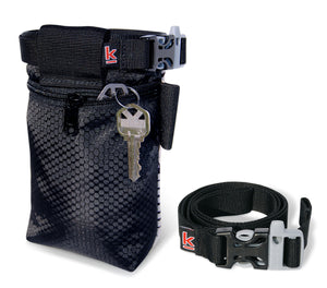 Mountains topo profile black Chalk Bag Krieg climbing chalkbag