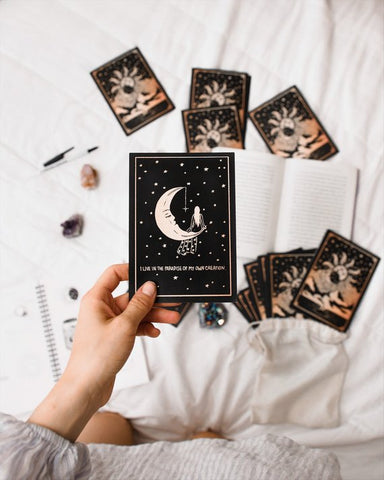Annie Tarasova's dreamy affirmation cards for spirit daughter's holiday gift guide