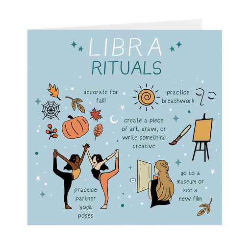 Libra Rituals Greeting Card