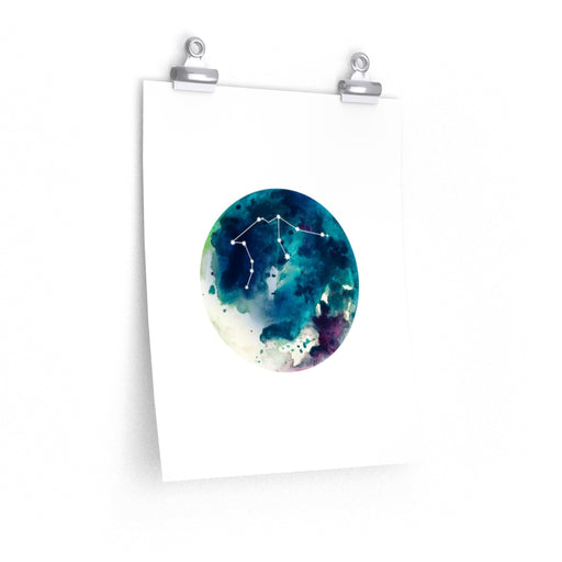 Aquarius Moon Print