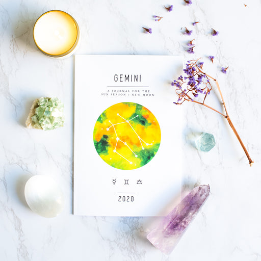Gemini Season + New Moon Workbook (Printed)