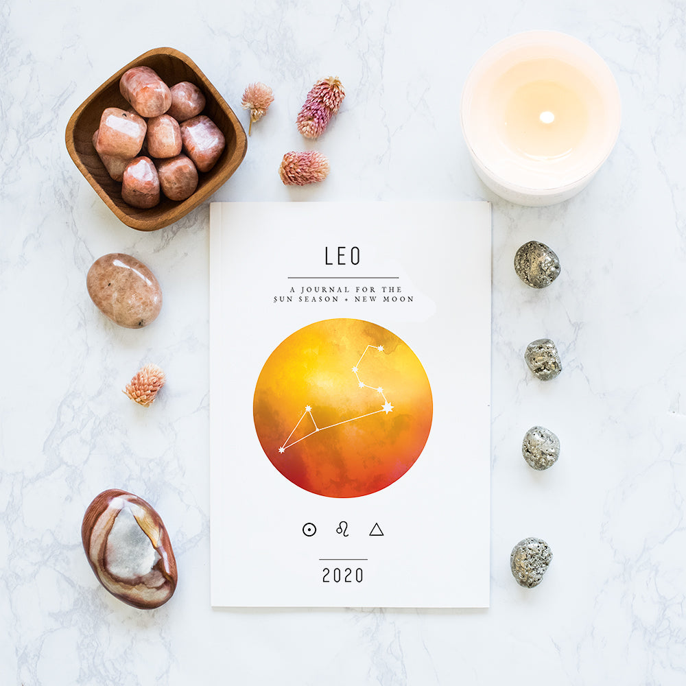 Leo Season + New Moon Workbook (Printed)