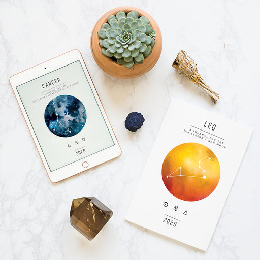 Cancer Digital Workbook + New Moon Printed Subscription