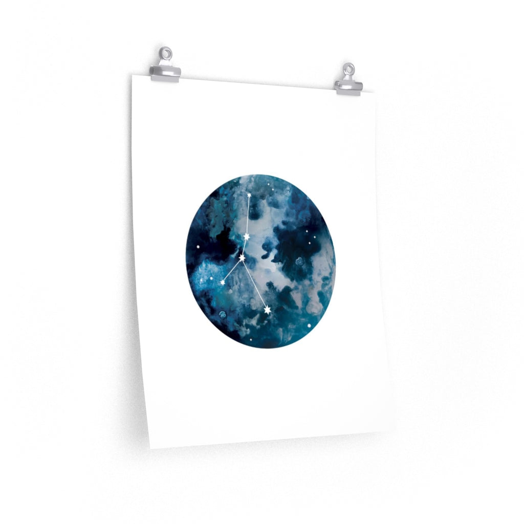 Cancer Moon Print