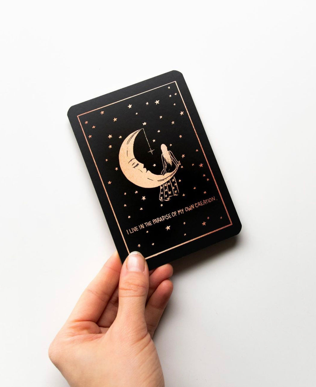 Dreamy Moons Affirmation Cards by Annie Tarasova