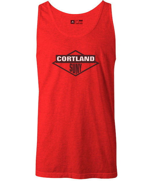 Classic Tank Top Beastie Boys Cortland SUNY College Red T-Shirt