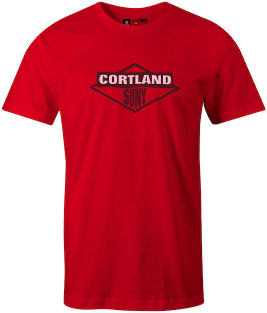 Beastie Boys Styled Cortland SUNY College Red T-Shirt