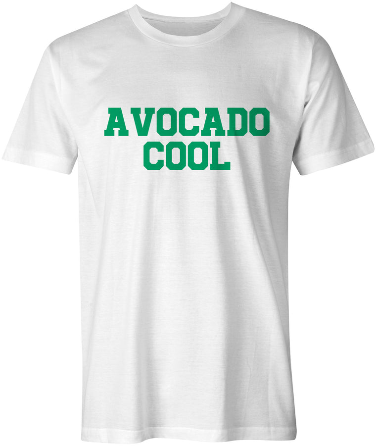 Fun Avocado Cool T-Shirt White