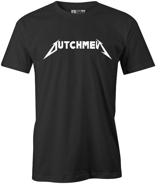 Metallica Styled Dutchman Black T-Shirt