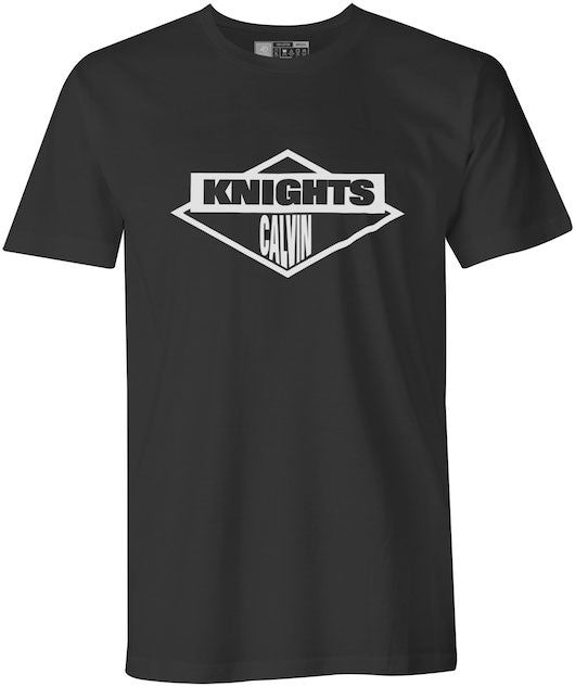 Beastie Boys Styled Styled Calvin College Knights Black T-Shirt