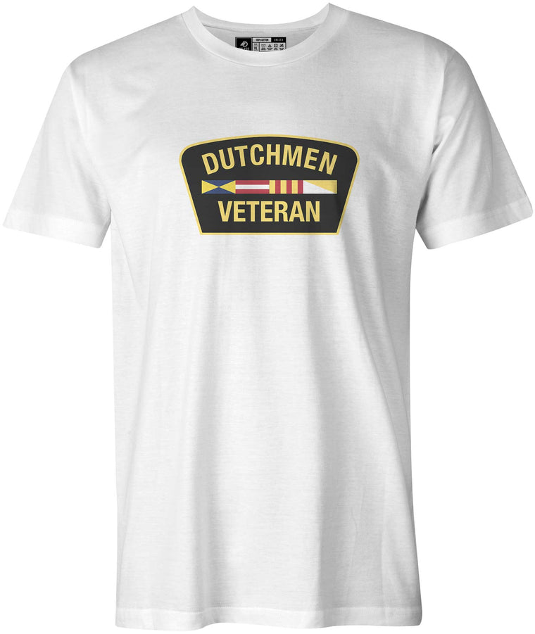 Veteran of Hope College Dutchmen T-Shirt, White