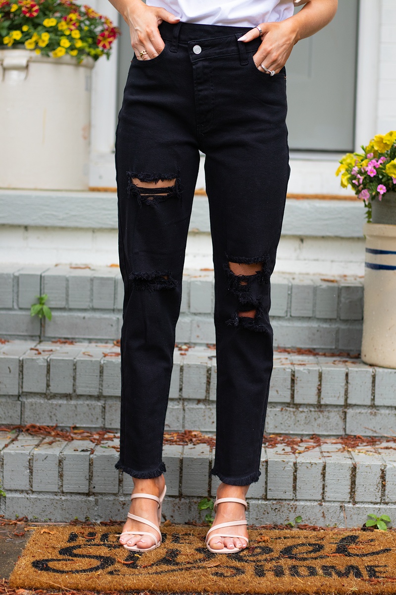 Crossover Jeans, Black