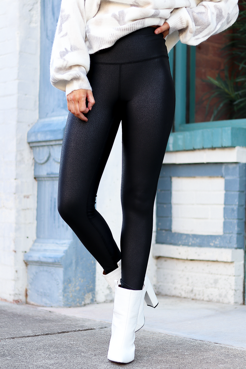 If you didn't already grab a pair of these Spanx Dupe leggings HERE IS YOUR CHANCE! Grab them because I promise you they will go fast! They are SOO comfy and YOU GUYS! THE BEST dupe you will find! I absolutely love these and they pair perfect with anything!