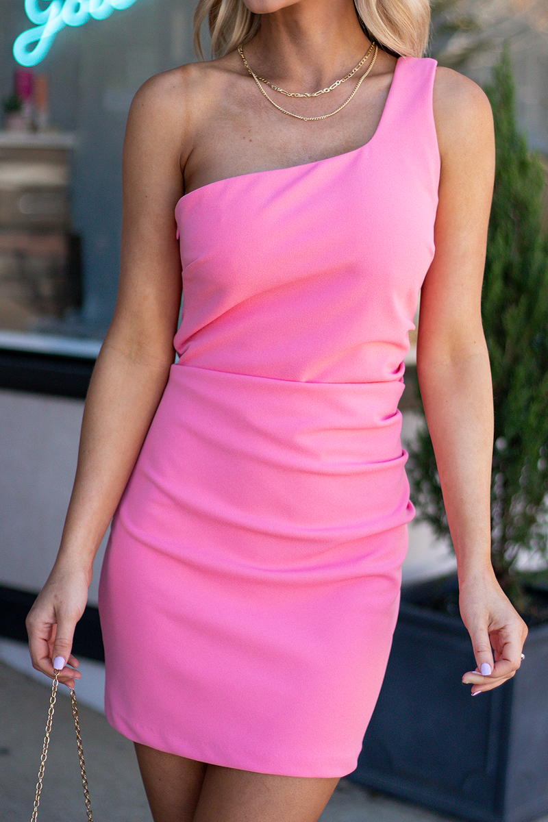 Wedding Date Chaser Dress, Pink