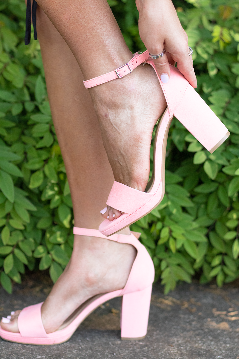 Most Likely Heels, Pink