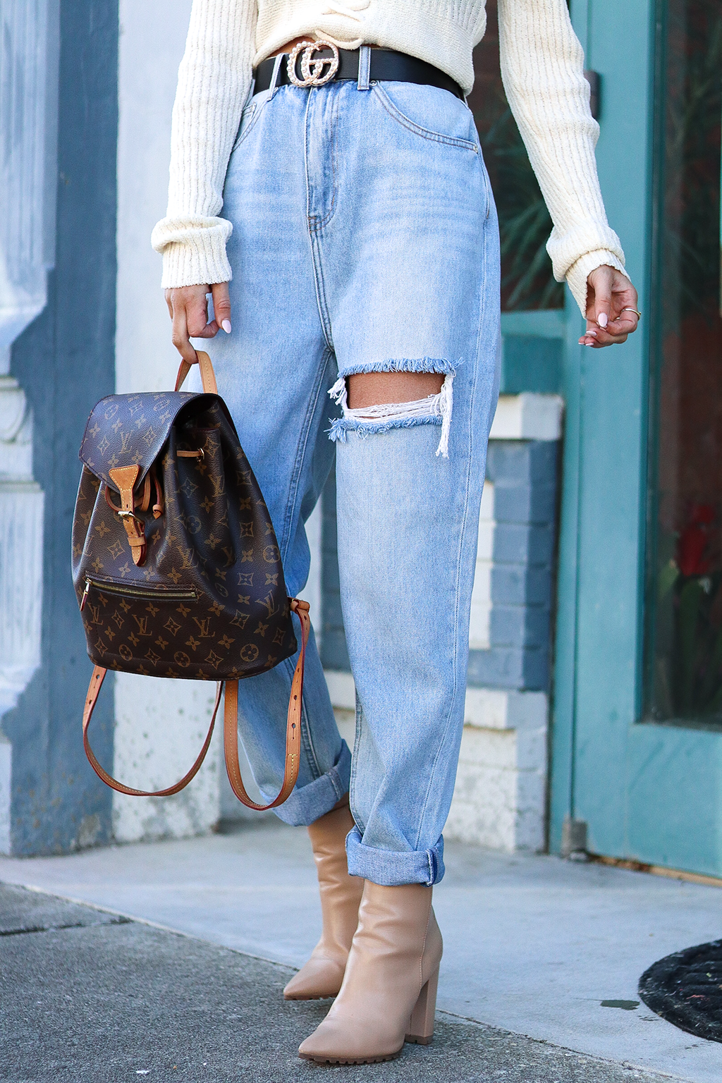 Turn Back Time Jeans, Denim