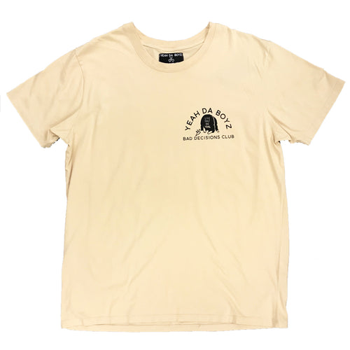 BD CLUB TEE ~ PEBBLE