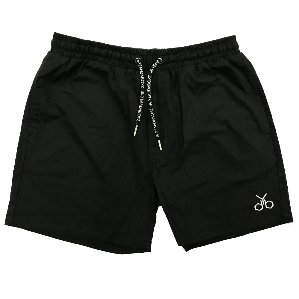 YDB LOGO SHORTS ~ BLACK