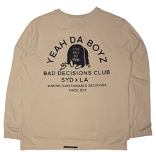 Load image into Gallery viewer, BD CLUB LONGSLEEVE ~ PEBBLE