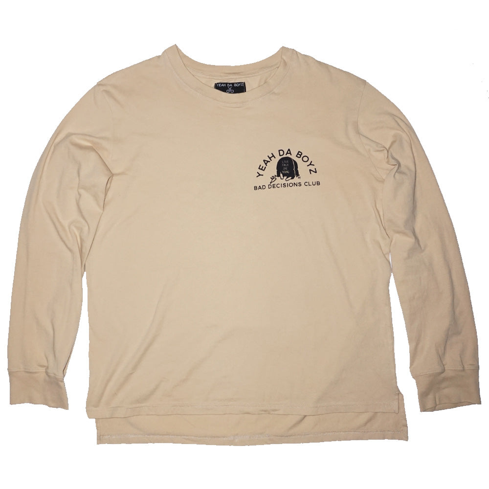 BD CLUB LONGSLEEVE ~ PEBBLE