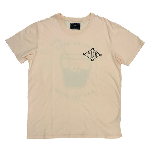 COCKTAIL TEE ~ PEACH