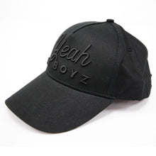 Load image into Gallery viewer, YEAH DA BOYZ BASEBALL CAP ~ BLACK