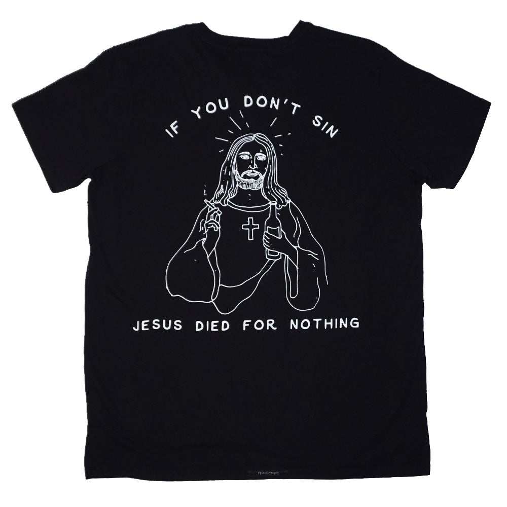 CONFESSIONS TEE ~ BLACK