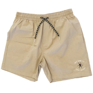 FVCK SPIDERS SHORTS ~ TAN