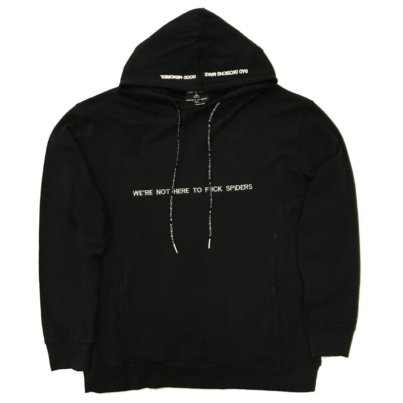 FVCK SPIDERS HOOD ~ BLACK
