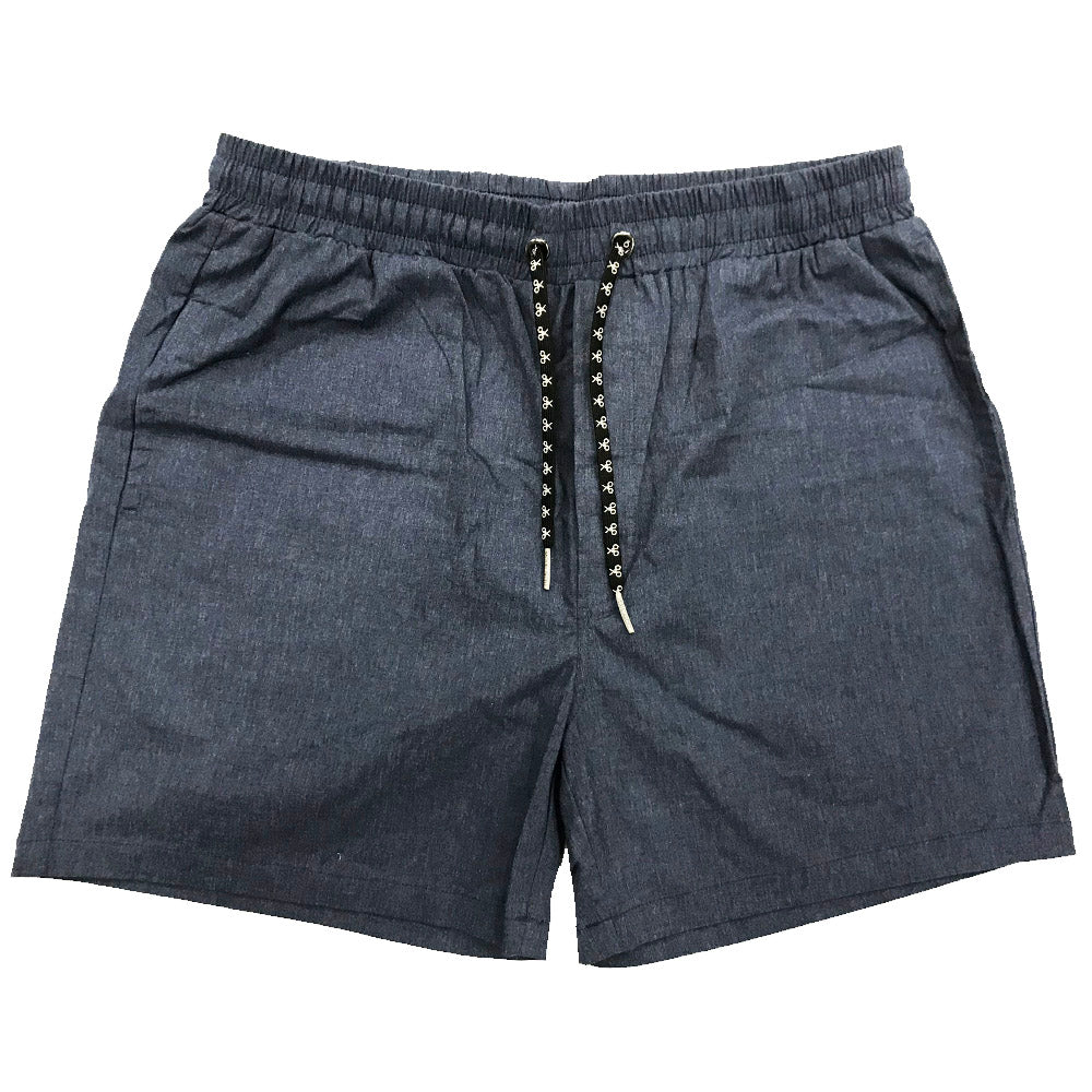 CLEAN SHORTS ~ DENIM WASH