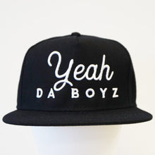 Load image into Gallery viewer, Script Snapback ~ Black