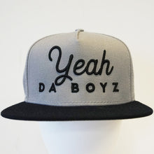Load image into Gallery viewer, Script Snapback ~ Grey