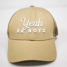 Load image into Gallery viewer, YEAH DA BOYZ TRUCKER ~ SAND