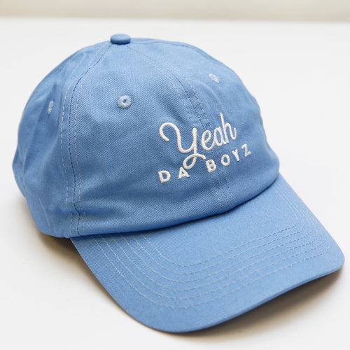 YEAH DA BOYZ DAD HAT ~ BABY BLUE