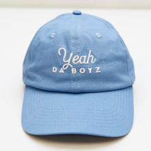 Load image into Gallery viewer, YEAH DA BOYZ DAD HAT ~ BABY BLUE