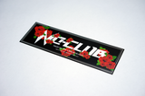 NOCLUB WILD ROSES DECAL