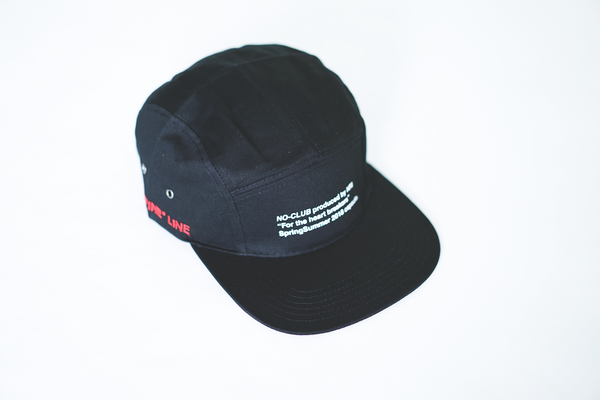 SS18.1 NOCLUB: FINE LINE CAMP HAT