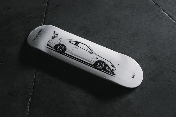 """THEN AND NOW"" NRI S15 SKATEDECK"