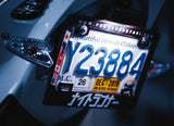 NIGHTRUNNER LICENSE PLATE FRAME FOR MOTORCYCLES (CANADIAN SPEC)
