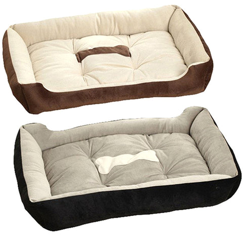 Luxury cheap dogs beds with bone design and two different styles available