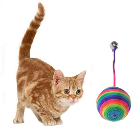Cat Weave Ball Toy