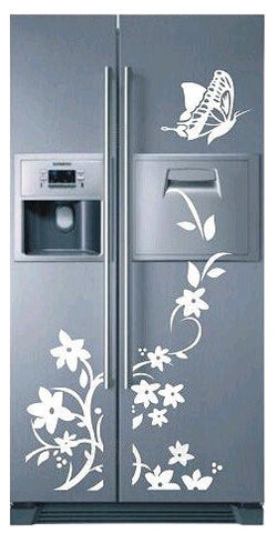 Creative Refrigerator Butterfly Sticker - The Kind Owl