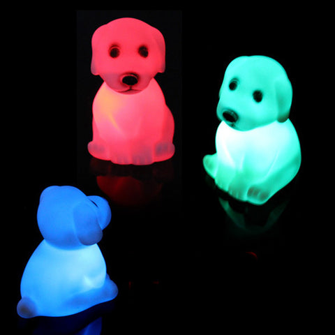 Cute Dog Night Light