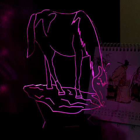 Horse Night Light (7 colors)