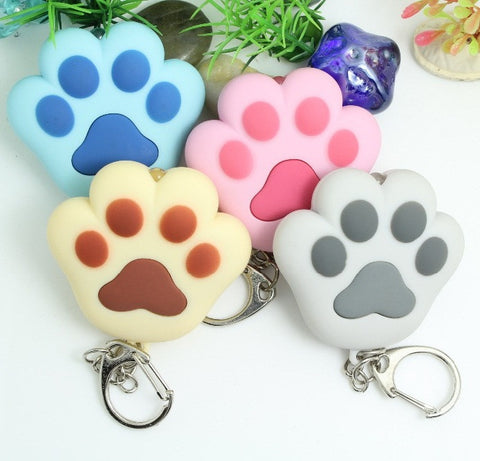 LED Light Cat Paw Keychains (With Sound) - The Kind Owl