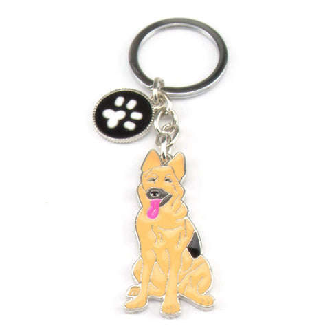 German Shepherd Keychain - The Kind Owl