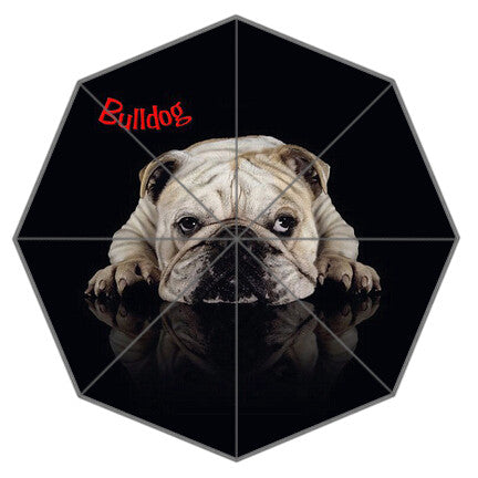 Stylish Bulldog Umbrella - The Kind Owl