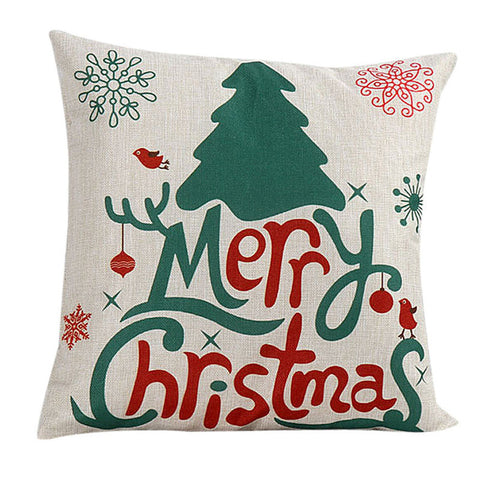Eco-friendly Christmas Cushion Covers (6 Designs)